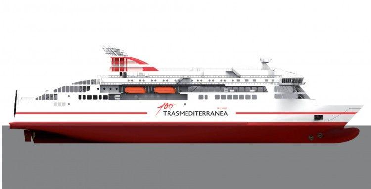 """La entrega del ferry """"Villa de Teror"""" lleva un retraso de dos meses"""