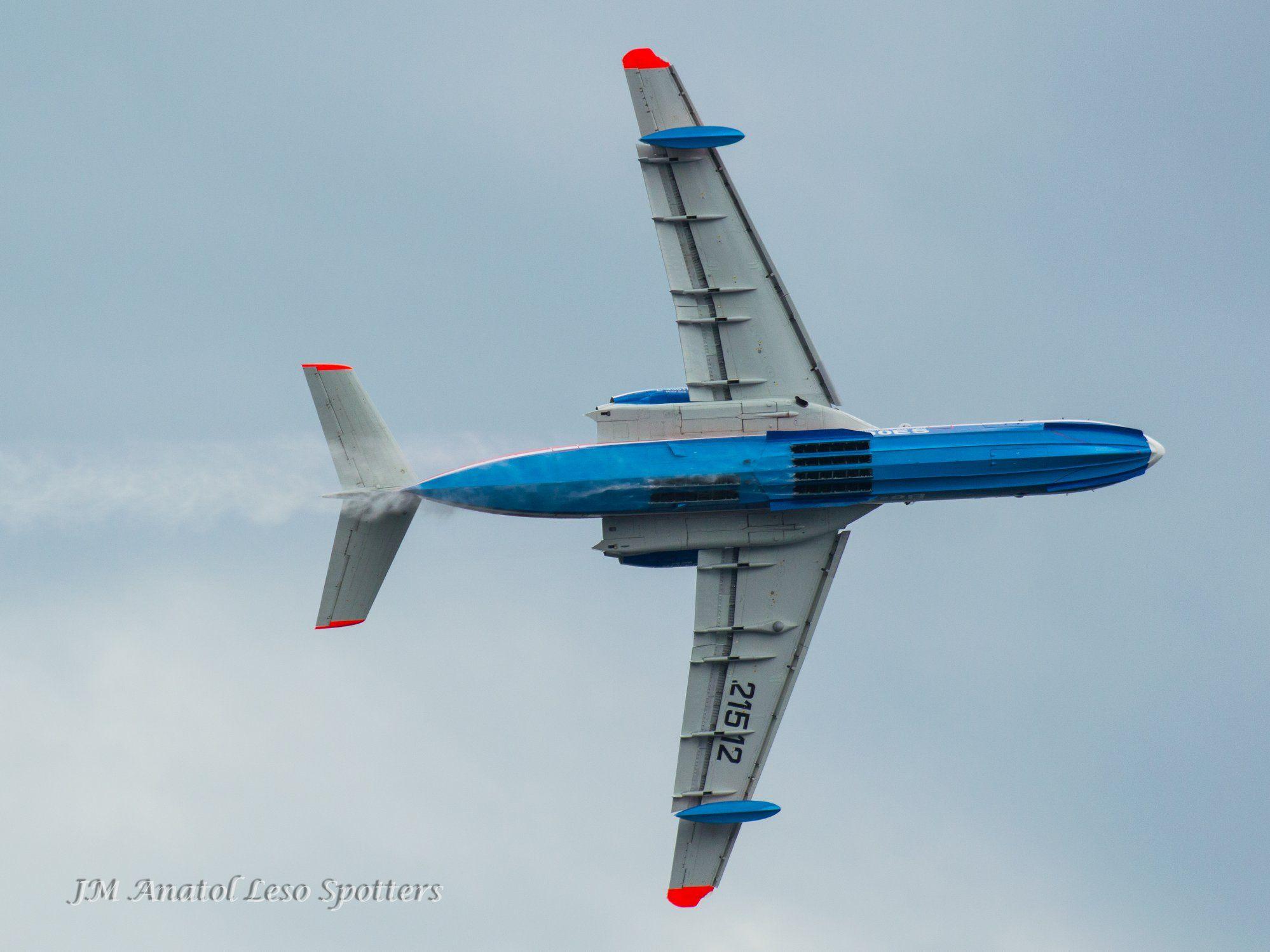La presencia de este avión anfibio fue una de las asistencias más destacadas