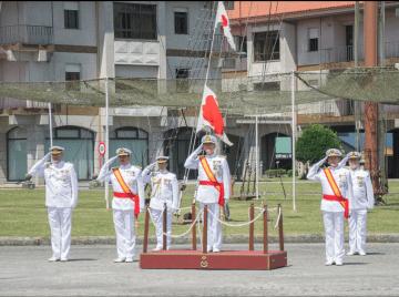 El AJEMA presidió el acto conmemorativo del 75º aniversario de la Escuela Naval Militar