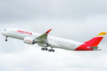 El avión A350 entregado hoy es el primero de un pedido de 16 unidades