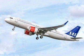 El primer Airbus A320neo de SAS entró en servicio en octubre de 2016