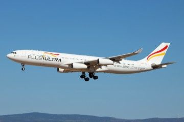 Plus Ultra realizará un vuelo semanal Tenerife Norte-Caracas