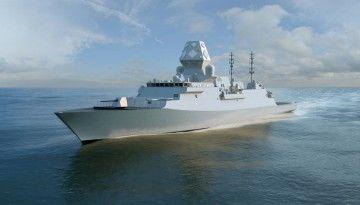 Este será el aspecto exterior de las fragatas Type 26