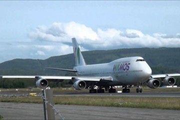 "Wamos Air tiene una flota de once aviones, de ellos seis B-747 ""Jumbo"""
