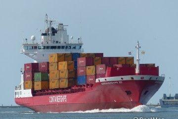La naviera finlandesa Containerships opera en la zona del Báltico