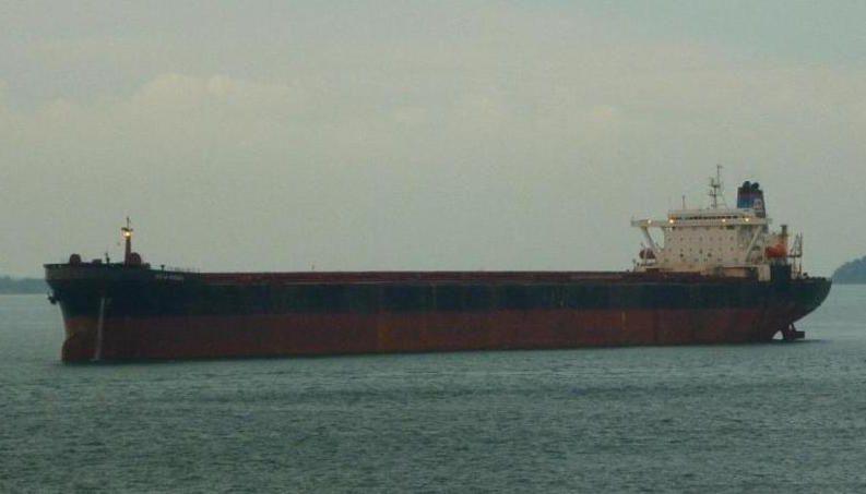 """Reconvertido en """"bulkcarrier"""" y renombrado """"Ocean Energy"""""""