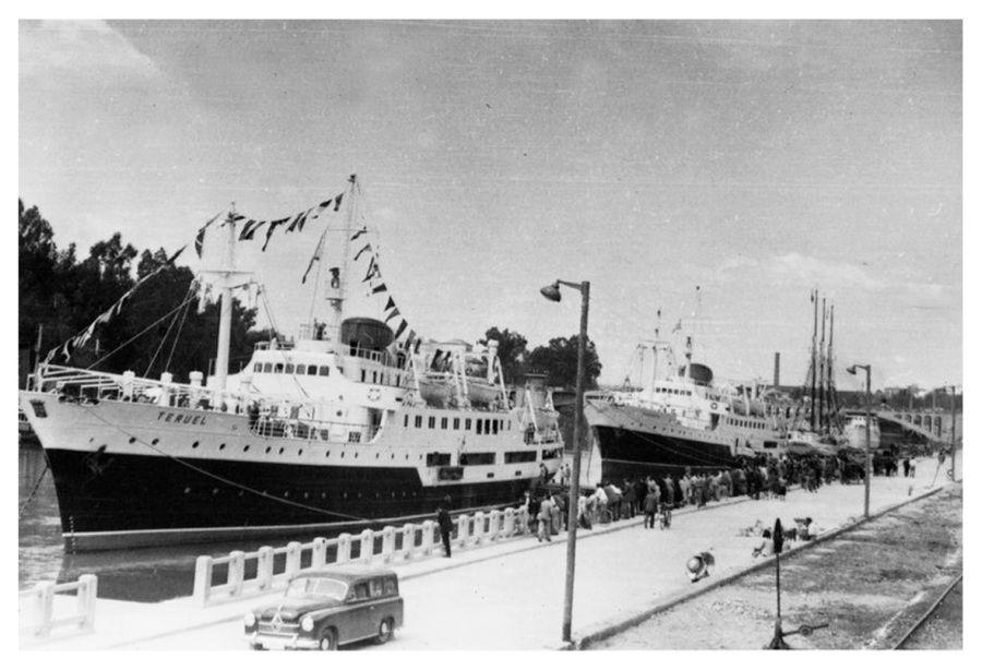 """Los buques """"Huesca"""" y """"Teruel"""", recién entregados a la Empresa Nacional Elcano"""