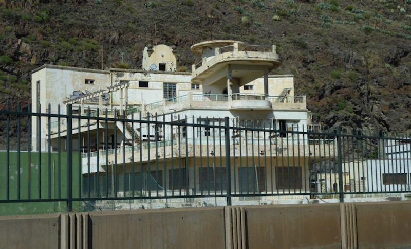 El Balneario de Santa Cruz se encuentra en total abandono