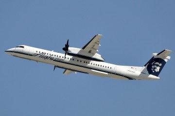 Este era el avión Dash 8 Q400 en el que voló Richard Russell