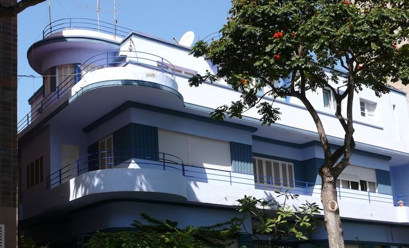 José Blasco. Edificio de Estadística (casa Pérez Alcalde)