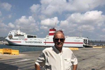 José Torres, fundador de la empresa Ibiza Mar Consignatarios
