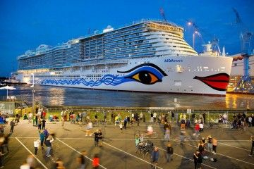 """Este es el aspecto exterior del nuevo buque """"AIDAnova"""""""