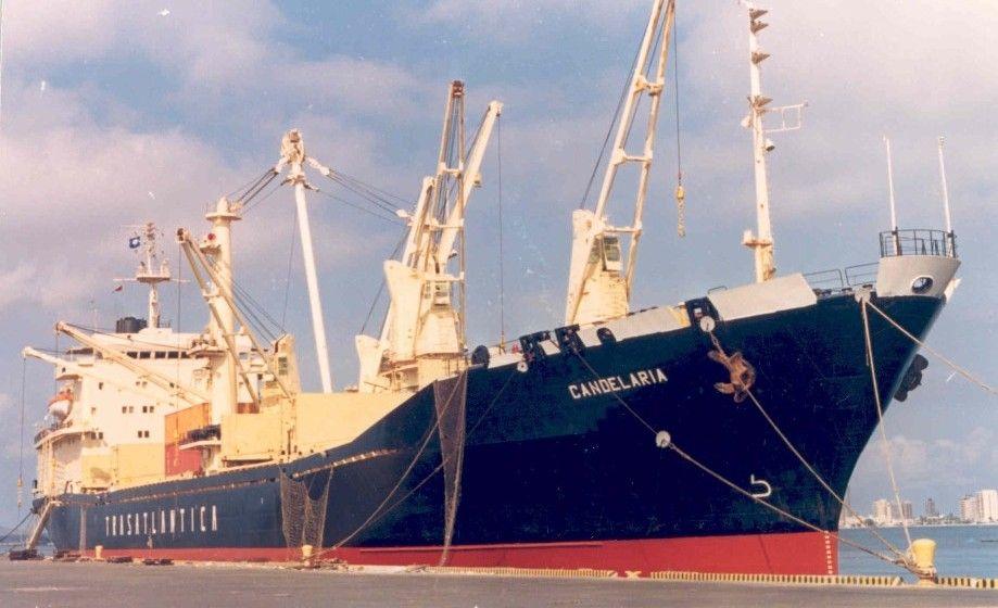 """Estampa marinera del buque """"Candelaria"""""""