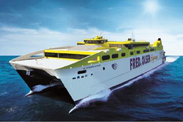 """Este será el aspecto exterior del catamarán """"Betancuria Express"""""""