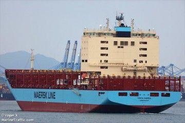 """El buque portacontenedores """"Venta Maersk"""" será el encargado del histórico viaje"""