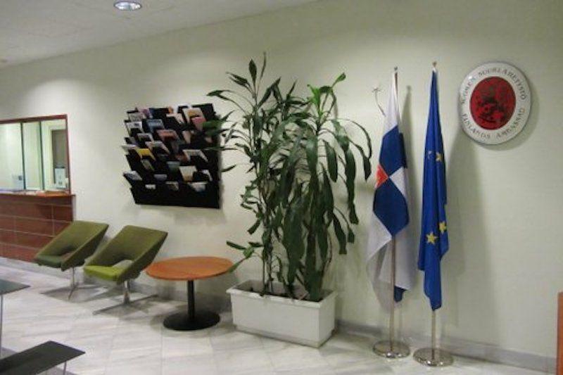Recepción de la embajada de Finlandia en Madrid