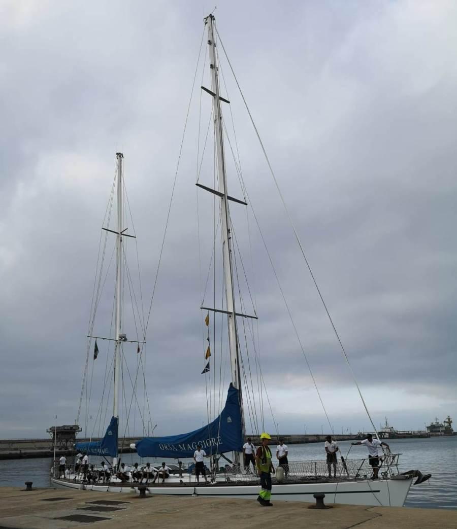 """El velero """"Orsa Maggionre"""" está en servicio desde 1995"""