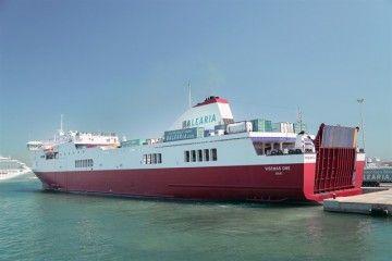 """El buque """"Visemar One"""" es un ro-pax tipo Visentini"""