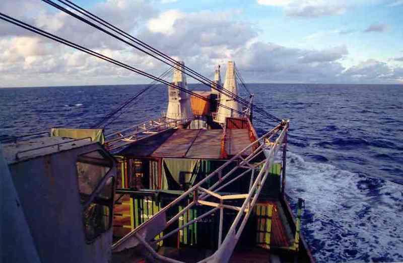 Navegando con buen tiempo. Un placer