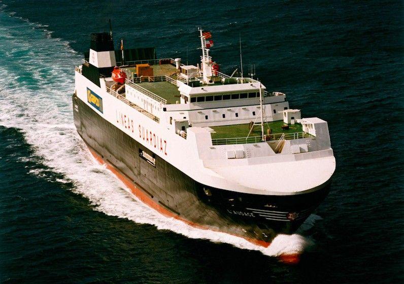 """La prueba del nuevo generador se realiza en el buque """"L' Audace"""""""