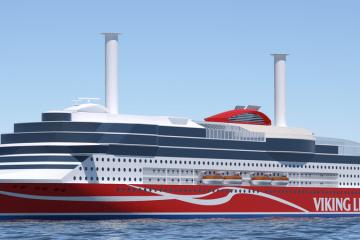 El nuevo buque de Viking Line estará equipado con dos rotores