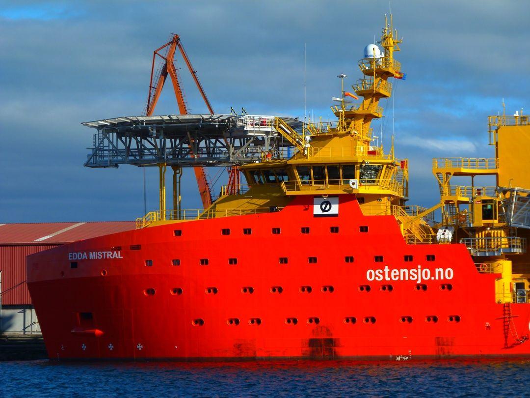 El buque será destinado al apoyo a parques eólicos