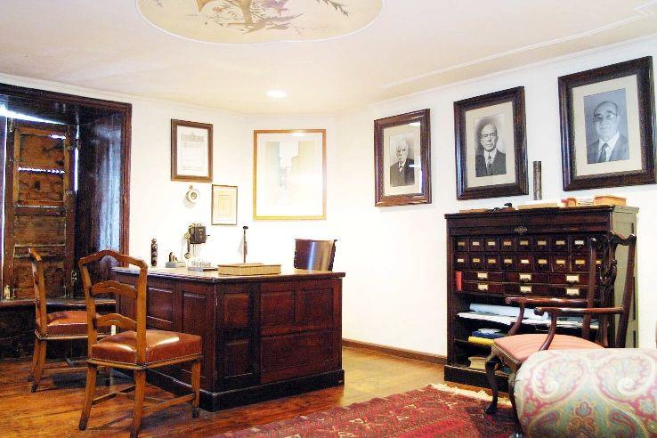 Casa Cabrera. Escritorio del director general