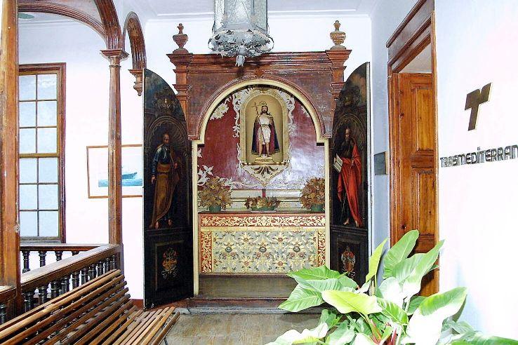 Casa Cabrera. Oratorio privado