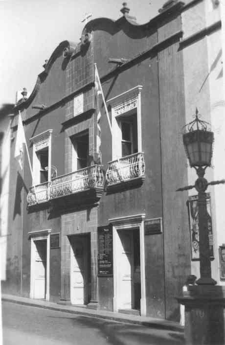 La Casa Cabrera, sede social de la empresa Juan Cabrera Martín (La Palma) S.A.