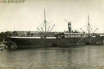 """El trasatlántico """"Valbanera"""", triste protagonista de la Marina mercante española"""