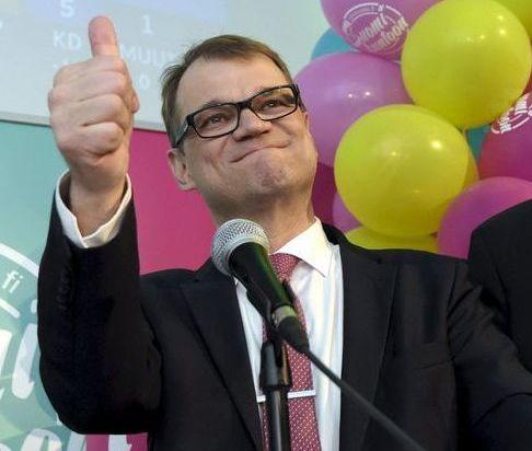 Juha Siipilä, primer ministro de Finlandia