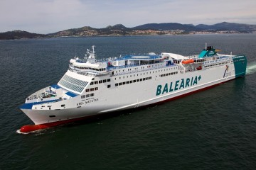 "Estampa marinera del ferry ""Abel Matutes"""
