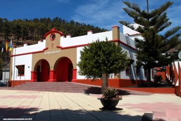 Aspecto actual de la sede del Ayuntamiento de Fuencaliente de La Palma