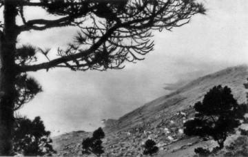 Panorámica de Las Indias a finales de la década de los años veinte del siglo XX
