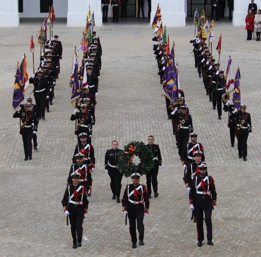 Homenaje a los Caídos en el acto celebrado en San Fernando