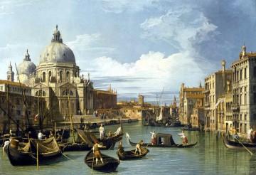 Canaletto. El Gran Canal y la iglesia de la Salute (1730)