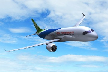China quiere tener su espacio con el avión COMAC C919