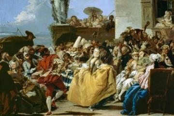 Tiépolo. Escena de Carnaval. Museo del Louvre