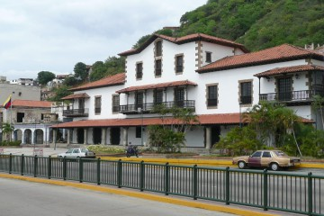 Fachada de la sede de la Real Compañía Guipuzcoana de Caracas