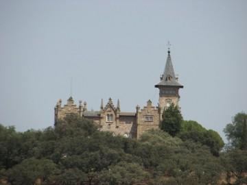 Palacio de las Cabezas, construido por encargo del primer marqués de Comillas
