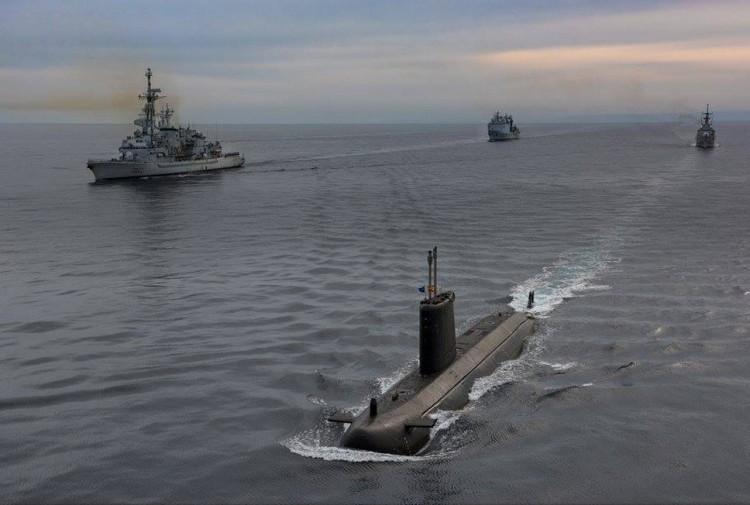 """El submarino """"Mistral"""" ha sido el más veterano de todos los participantes"""