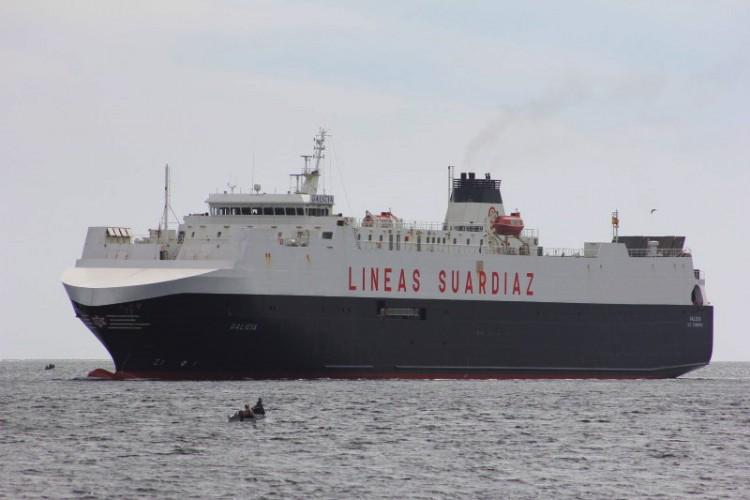 """El buque """"Galicia"""" es uno de los adscritos al nuevo servicio"""