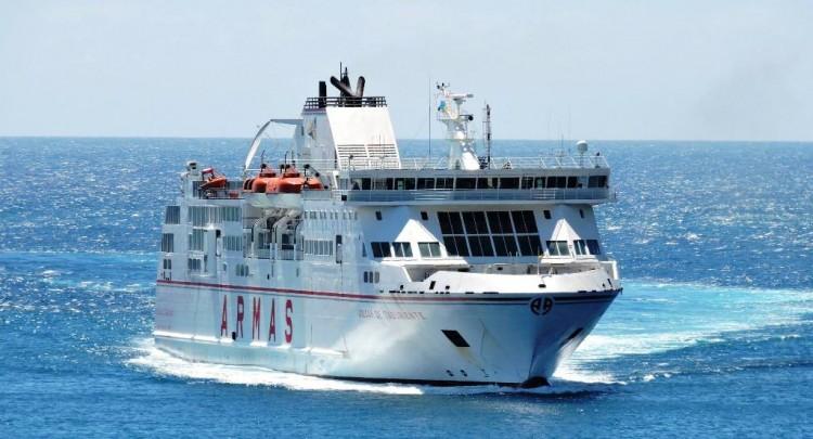 """El ferry """"Volcán de Taburiente"""" saldrá de línea durante 20 días"""