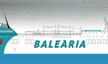 """Este será el aspecto externo del buque """"Dénia Ciutat Creativa"""""""