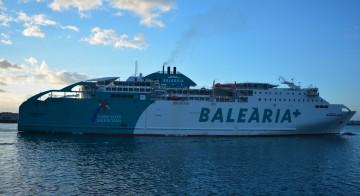 """Balearia hará mañana una jornada de puertas abiertas a bordo del buque """"Bahama Mama"""""""