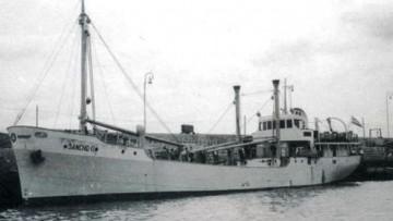 """""""Sancho II"""", el último barco de cabotaje de Álvaro Rodríguez López, S.A."""