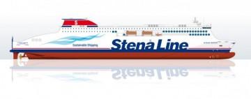 Este será el aspecto exterior de los nuevos ro-pax de Stena