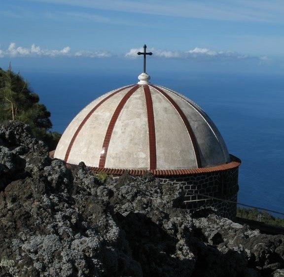 La ermita es un referente entre las construcciones religiosas de La Palma