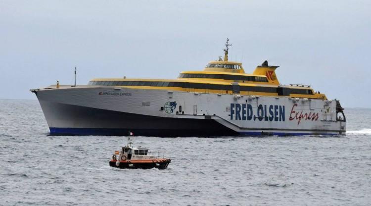 Fred. Olsen refuerza su oferta en la línea de La Palma