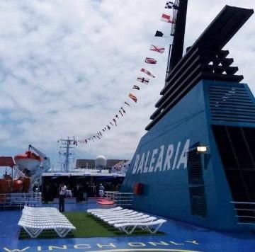 """El buque """"Dénia Ciutat Creativa"""" entra al servicio de Balearia"""